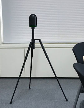 三次元レーザースキャナ「BLK360」